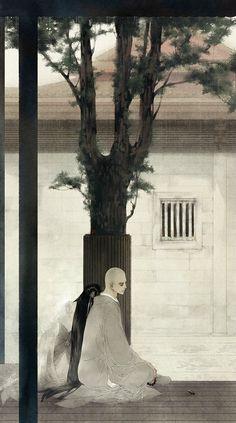 Phật Tú (Tranh của Y Xuy Ngũ Nguyệt)