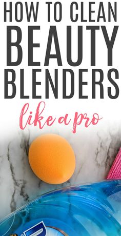 How To Clean A Beauty Blender - - How To Clean A Beauty Blender Cleaning Hacks Dealing with a dirty, stained makeup blender? Check out easy tips on how to clean a beauty blender. It easily works to kill off germs, bacteria, and oils. Deep Cleaning Tips, House Cleaning Tips, Spring Cleaning, Cleaning Hacks, Clean Beauty, Diy Beauty, Beauty Blender How To Clean, Beauty Tips, Beauty Ideas