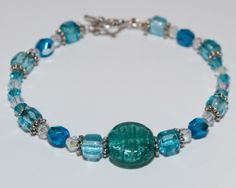 Handmade Oceana bracelet.  Dreamy and by BaublesDesigns4U on Etsy, $14.99