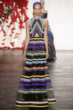 Catwalk photos and all the looks from Naeem Khan Spring/Summer 2016 Ready-To-Wear New York Fashion Week