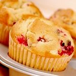 pumpkin cranberry muffins-low carb