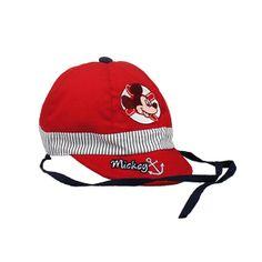 Gorra baby niño Disney Mickey (T.42-44-46) rojo