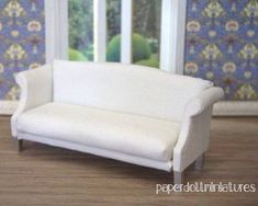 How to: Miniature sofa.: