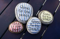 Painted Pebbles - Homemade By Rachel
