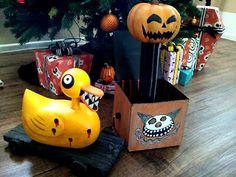 DIY Nightmare Before Christmas Halloween Props