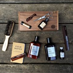 Beard Essentials from @beardbrand Check out the kit link is in my bio. ✂️ #beardbrand