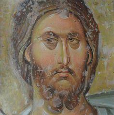 Expozitie 2018 - Lucrari Byzantine Icons, Byzantine Art, Fresco, Tempera, Russian Orthodox, Art Icon, Orthodox Icons, Mural Painting, Sacred Art