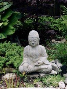 garden buddha <3