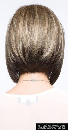 Back of Angled Bob. Sigh...I wish I had good hair.