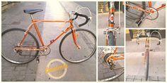 Westdeutsches Luxus Markenrad  Ha estat un treball dur, l'eix de pedalier Thun Thomson ha incrementat el nivell de dificultat. Els cromats enacra brillan. It was hard to recover this bike with a bottom bracket Thomson Thun, this work increase de leve dificulty. It's shining the chrome yet. Fue un trabajo duro para recuperar esta bicicleta, con un eje de pedalier Thun Thomson, la dificultad subió de nivel. Sus cromados aún relucen.