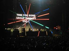 EDC Chicago 5/24/2013. Group Therapy!! Above & Beyond. Srsly, I can't even describe how amazing this was.