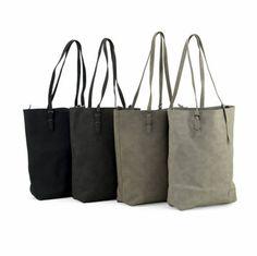 Zebra Trends Natural Bag - met binnentas - in 4 kleuren www.outside-wishes.nl