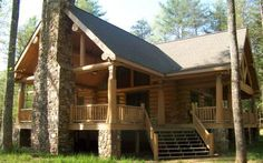 looking for some contemporary log home designs for next project