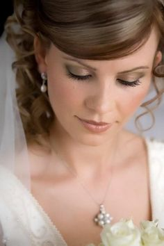 bridal makeup - romantic and natural
