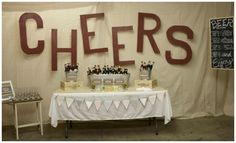 Beer tasting party.  Great party idea for men's birthday and Fathers Day.  #FathersDay #Beer #Parties