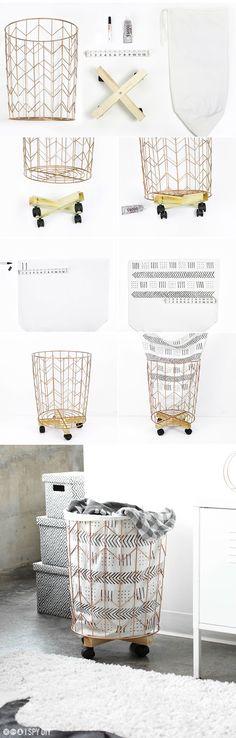 DIY   Saco para la ropa personalizado - DIARIODECO