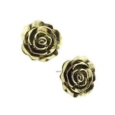 Rosebud Stud Earrings $15