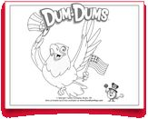 #Free #Eagle #Coloring page. Happy #4thofJuly from #DumDums! Download more seasonal printable activities at DumDumPops.com! 4th Of July, Coloring Pages, Activities For Kids, Eagle, Printables, Seasons, Wallpaper, Happy, Free