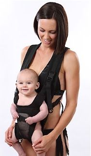 Shower carrier for babies! Great for beach, water parks, hot weather, around the pool, and very compact for on the go!  www.jujuroo.com