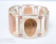EPBOT: Smashed Penny Bracelet - In Resin!  Fantastic how to -  So Classy!!!!