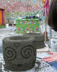 Hypertufa Garden Art | Beyond the Pot - Hypertufa Art | Flickr - Photo Sharing!