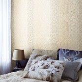 Behang geel beige streep Impulse - BN Wallcoverings