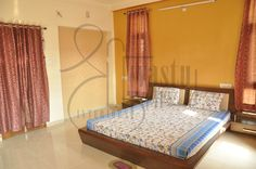Excellent ventilated bedroom to invite positivity!  Designed by #ShriVastuKrit #InteriorDesigner #VastuConsultant #Indore #Bedroom