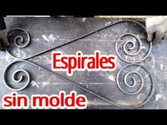 Como hacer caracoles o espirales sin molde FORMA SENCILLA Y CON HERRAMIENTA SIMPLE - YouTube Welding Tools, Metal Welding, Dragon City Game, Metal Fabrication Tools, Metal Bending Tools, Metal Bender, Corner Wardrobe, Iron Tools, Metal Shop