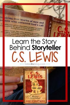 Learn about Narnia and how it began with C. Lewis: Master Storyteller, a biography from the Christian Heroes Then & Now series. History Books For Kids, Author Studies, Unit Studies, Social Studies Notebook, American History Lessons, Teaching Language Arts, Fiction And Nonfiction, Chapter Books, Children's Literature