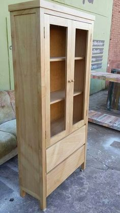 Cabinet Furniture, Diy Furniture, Muebles Living, Small Cabinet, Carpentry, China Cabinet, Wood Art, Cupboard, Woodworking
