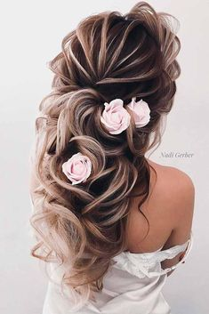 Hairstyles for weddings are of primary concern for every bride. But how can a woman choose only one matching hairdo from such a huge variety of hair styles? We have prepared a nice guide for you. Choose the best hairstyle to match your dress, image, and the overall theme.