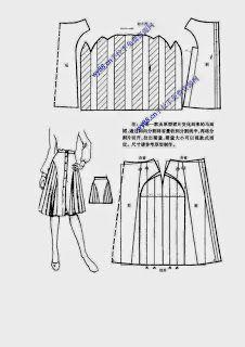 modelist kitapları: Chinese method of pattern making - skirts