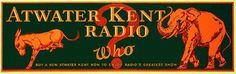1920's Atwater Kent Radio Advertising Vintage Political Poster Sign – Vintage Poster Works: Debra Clifford