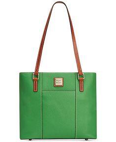 Dooney & Bourke Pebble Small Lexington Shopper - Dooney & Bourke - Handbags & Accessories - Macy's