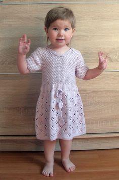 Платье для девочки 2-3 года, платье спицами, платье нежно-сиреневого цвета - купить https://www.livemaster.ru/item/21235103-raboty-dlya-detej-letnee-plate-dlya-devochki-nezhnaya-siren