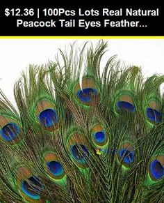 Wholesale 20-100PCS High quality Natural Pheasant Tail /& Peacock Feathers Diy