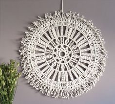 Macrame Wall Hanging Large Macrame Wall Hanging by MOXmacrame