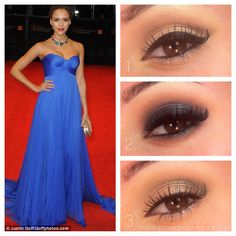 Prom: Cobalt Dress  1. Classic - This looks created a beautiful elongated eye shape with neutral colors perfect for any skin tone. A brown shadow in the crease mimics the thick, black winged liner. This classic pin up look pairs perfectly with a coral or orange-red lip. Tip: Line the waterline with black for a narrow eyed look, or a flesh tone for a more open eyed look.  2. Smokey - The combination of warm tones in the crease and cool tones on the lid make a lovely contrast in this smokey…