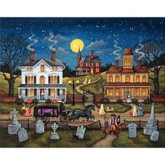 BONNIE WHITE HEARTLAND JIGSAW PUZZLE THE DARE HALLOWEEN 500 PCS #Heartland #JigsawPuzzle
