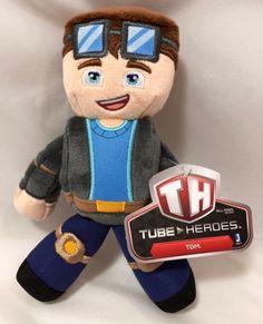 Tube Heroes Dan TDM Dantdm Plush Figure New with Tags Free ...