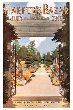 Harper's Bazaar July 1910