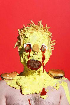Junk Food – Les étranges portraits de James Ostrer