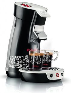 On: http://www.selectism.com/news/2012/04/16/senseo-coffee-machines-keith-haring-editions/ // Keith Haring x SENSEO Coffee Machines - http://www.blueexpressfamily.com/blog/?p=520