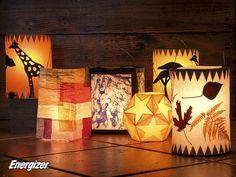 Leuchtende Laternen – Mit Energizer Batterien erhellen sie den Herbst und Winter.