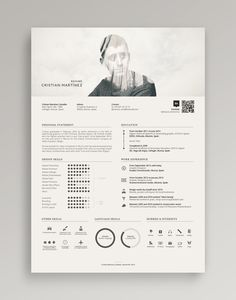 Resume / Curriculum Vitae on Behance