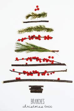 Fluxi On Tour: BRANCHES CHRISTMAS TREE, Christmas Decoration