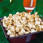 Cinnamon Popcorn.  Don't kick your glucose into the stratosphere with kettle corn. Instead, help heal your diabetes with this buttery, sweet and aromatic popcorn.