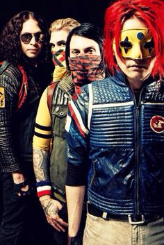 Image result for my chemical romance danger days hq photoshoot