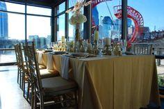 Wedding reception at the gorgeous Bridge Building. #nashvillelove #bridgebuilding