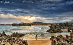 Playa de Isla #Cantabria #Spain #Travel #Coast